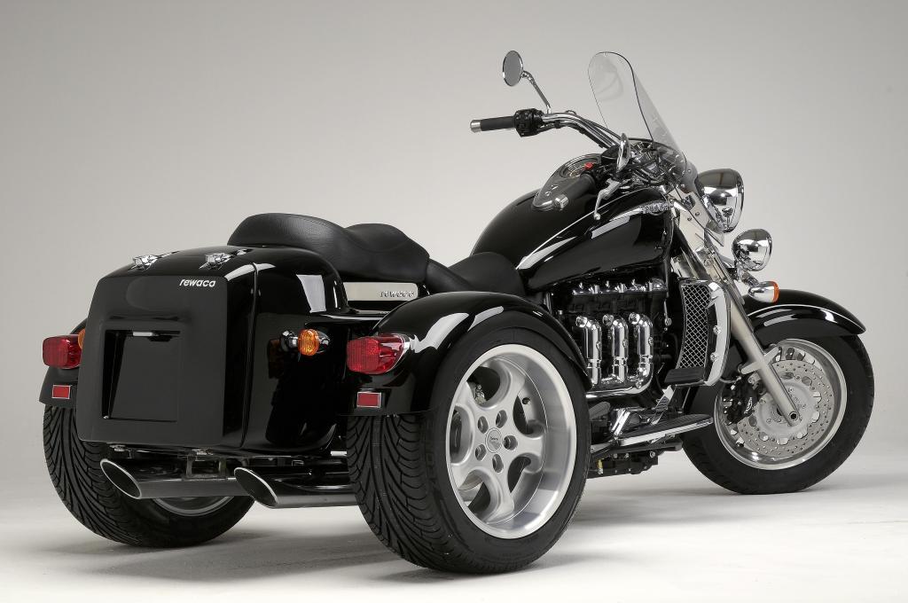 Rewaco baut Triumph Rocket zum Trike um - Bild(3)