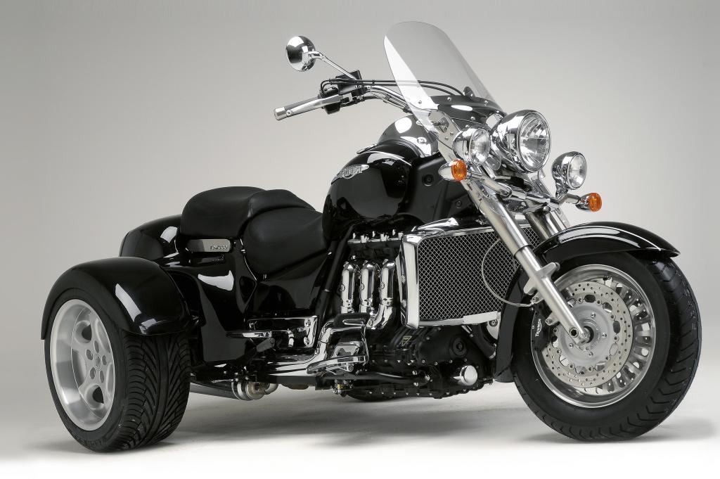 Rewaco baut Triumph Rocket zum Trike um - Bild