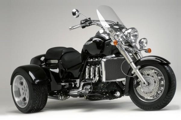 Rewaco baut Triumph Rocket zum Trike um