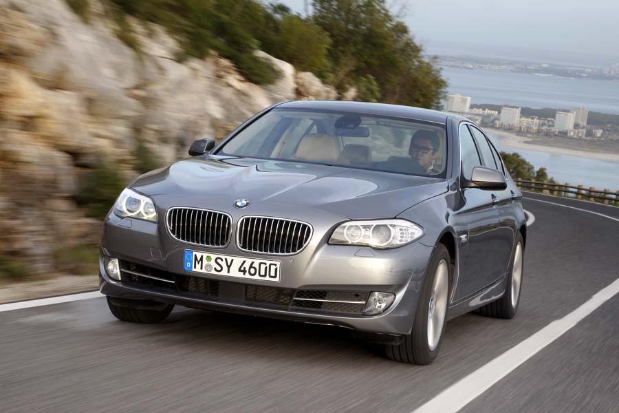 Sieht deutlich sportlicher und eleganter aus: Der neue BMW 5er. | Foto: Max Kirchbauer