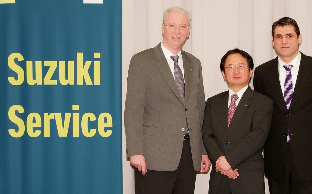 Suzuki mit neuem Partner bei Anschlussgarantie