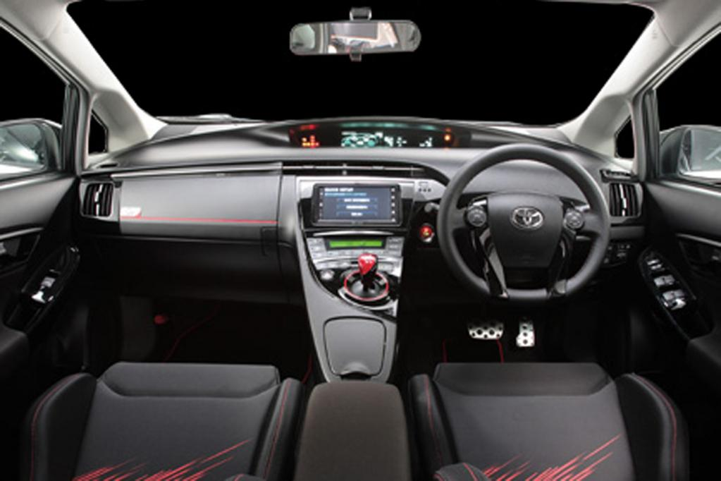 Toyota mit Sportversion des Prius