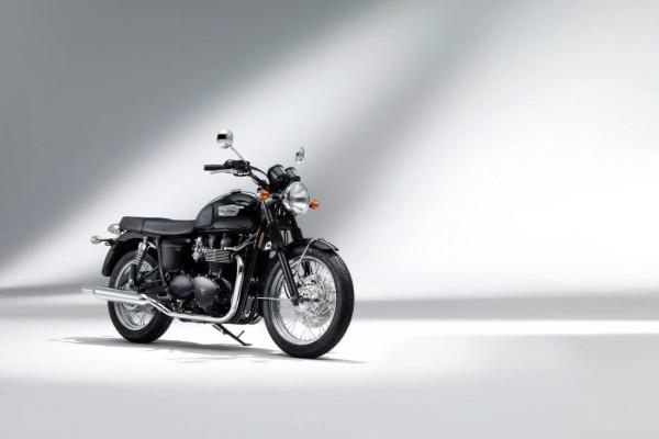 Triumph legt limitierte ''Black Edition'' der Bonneville T 100 SE auf