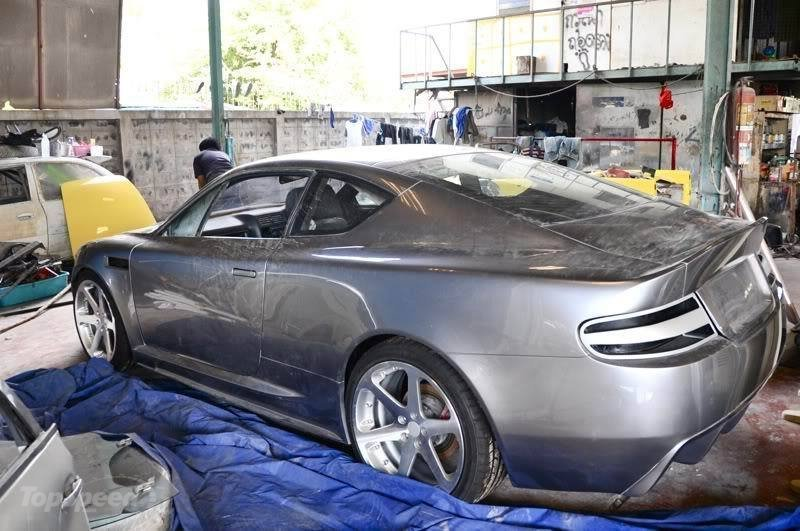 Viele Stunden Arbeit machen aus einem Opel einen Aston Martin, Foto von: www.topspeed.com