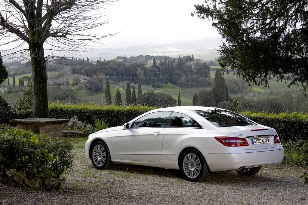 Vier Mercedes-Benz Modelle ''Wertmeister 2010''