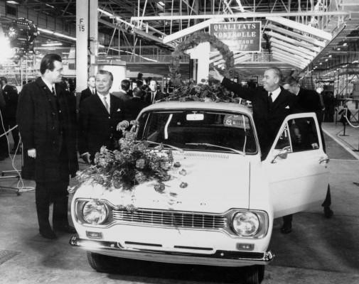 Vor 40 Jahren: Der erste Ford aus Saarlouis rollt vom Band