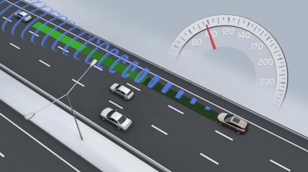 ADAC-Test: Platz eins für Volvos Geschwindigkeits- und Abstandsregelsystem