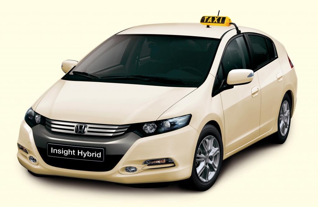 Honda bietet Hybrid-Modelle als Taxi an