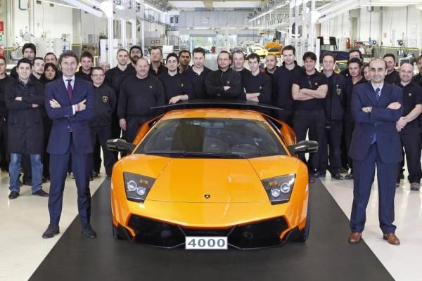 Jubiläum bei Lamborghini. Nummer 4.000 geht nach China