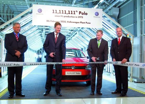 11 111 111. Volkswagen Polo lief in Indien vom Band