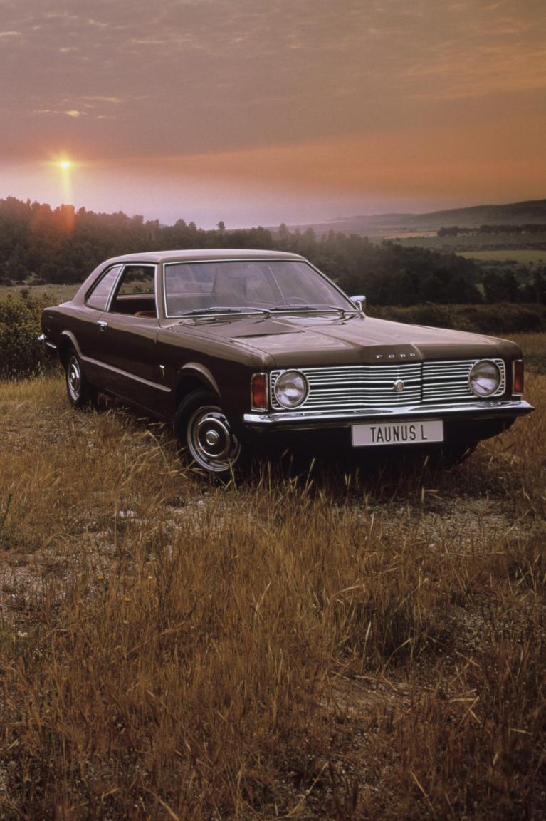 40 Jahre Ford Taunus TC: Die Nase im Wind