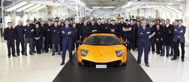 4000. Lamborghini Murciélago geht nach China