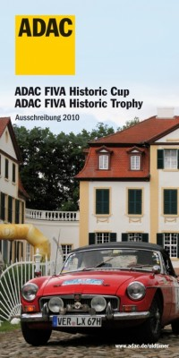ADAC FIVA Historic Cup und Trophy auch 2010 am Start