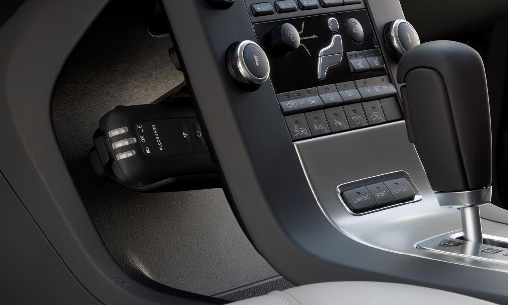 Volvo bietet System zur Alkoholkontrolle vor Fahrtantritt