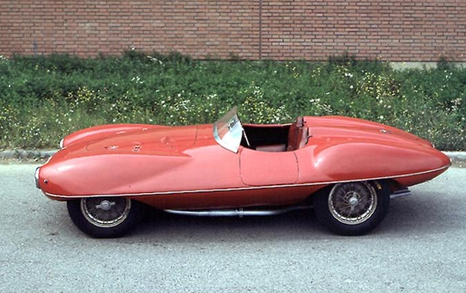Alfa Romeo Disco Volante Spider (1952).