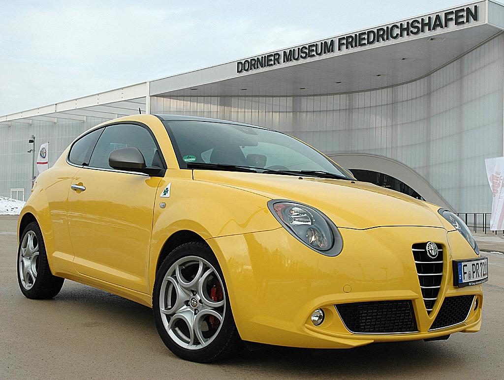 Alfa Romeo neuer Mito Quadrifoglio Verde.