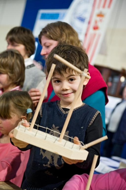Auch für Kinder hält das Programm der BOATFIT 2010 wieder einiges bereit.