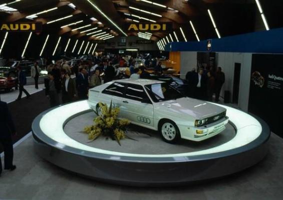 Audi Tradition feiert 30 Jahre quattro