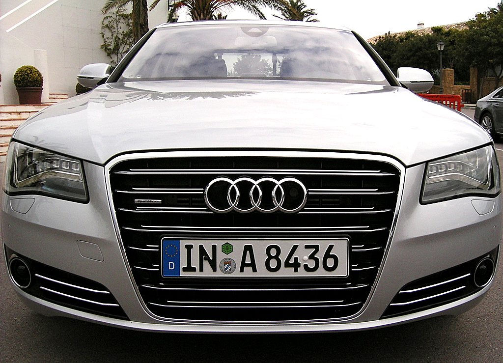 Audis neuer A8: Frontansicht.