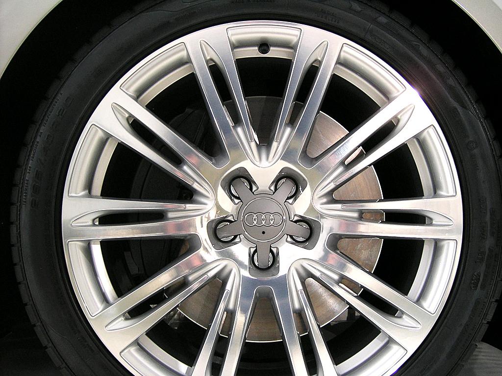 Audis neuer A8: Radansicht.