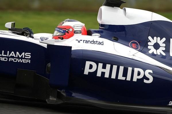 Barrichello im Regen vorne: Keine Besserung beim Wetter