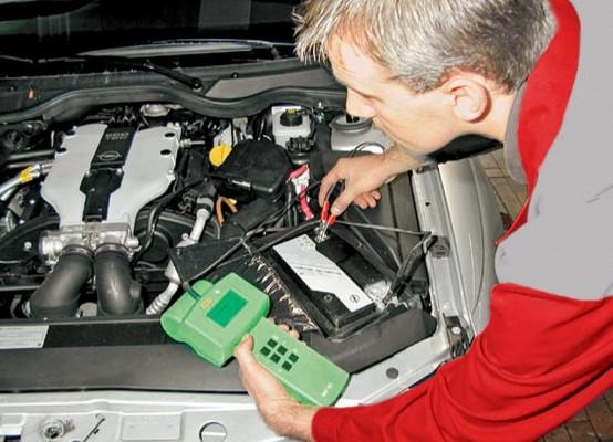 Batteriecheck, damit der Akku seine Arbeit nicht niederlegt