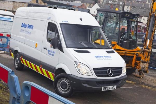 Britisches Unternehmen bestellt 700 Mercedes-Benz Sprinter