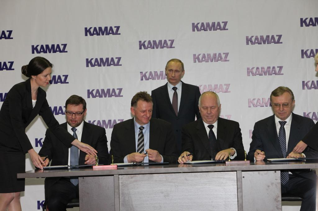 Daimler will Anteil an Kamaz aufstocken