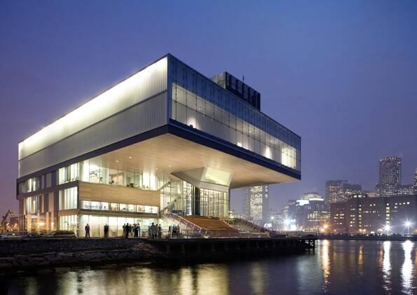 Der Beitrag von Diller Scofidio + Renfro: Institute of Contemporary Art Boston 2006.