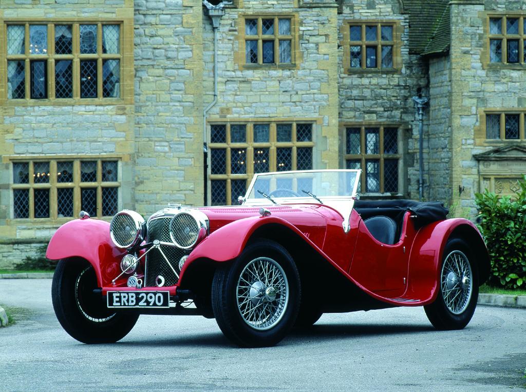 Der Jaguar S.S 100 ist genauso ein Klassiker ...