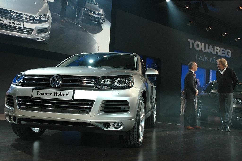 Der neue VW Touareg, hier das Hybrid-Spitzenmodell.