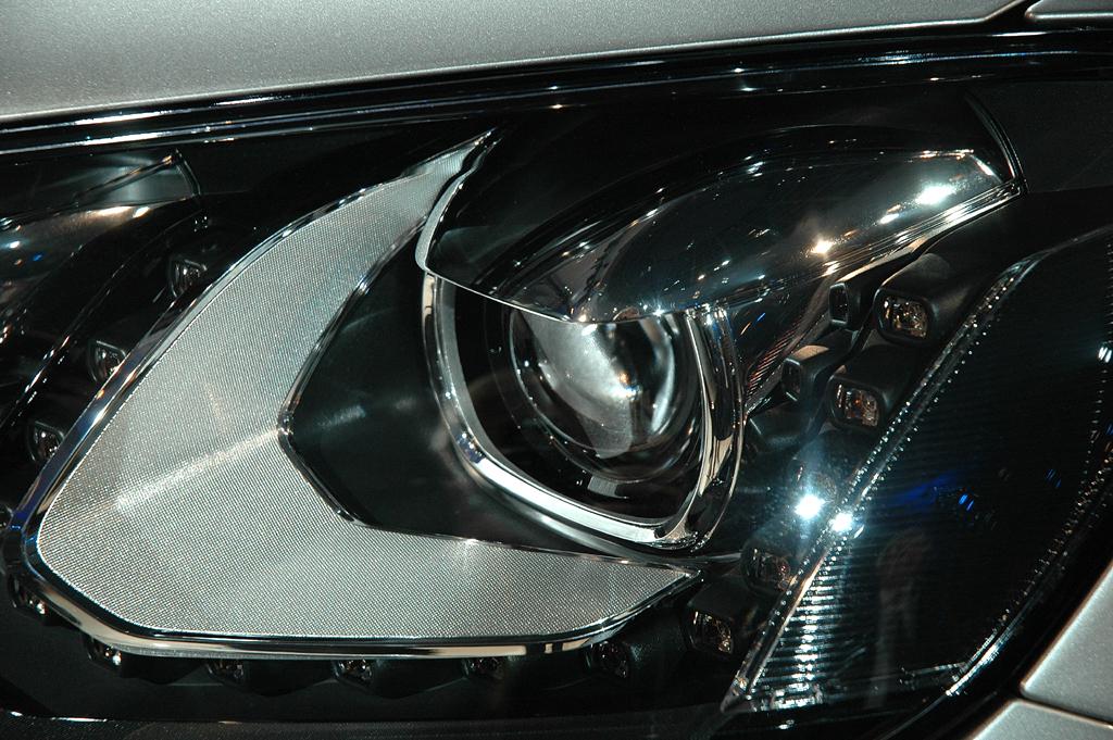 Die modern gestylten Leuchteinheiten sind auch ein wichtiges Sicherheitselement.