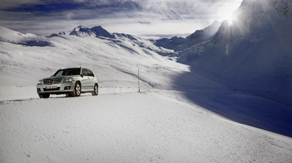 Fahrbericht Mercedes-Benz GLK: Bewährte Pkw-Technik im Geländewagen