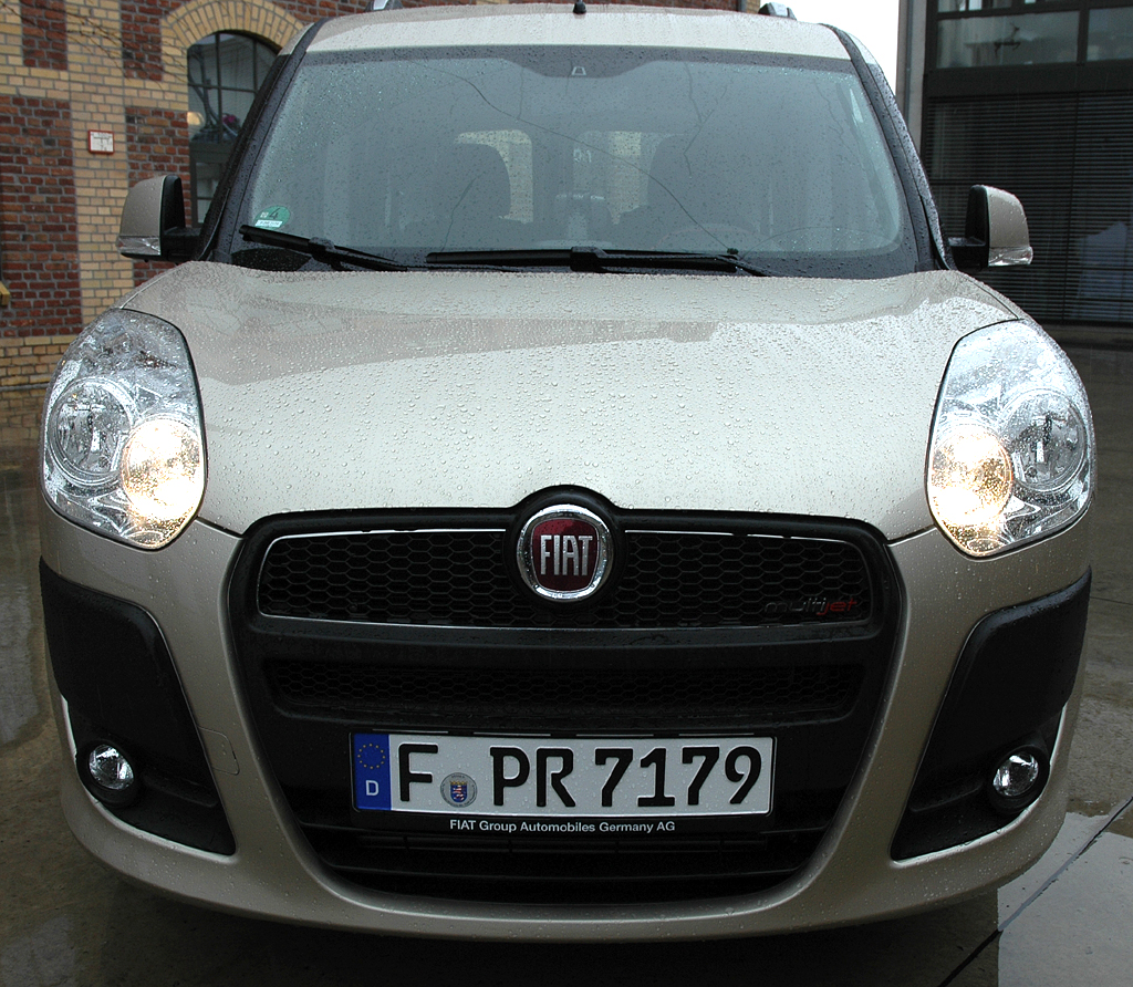 Fiat Doblò: Frontansicht.