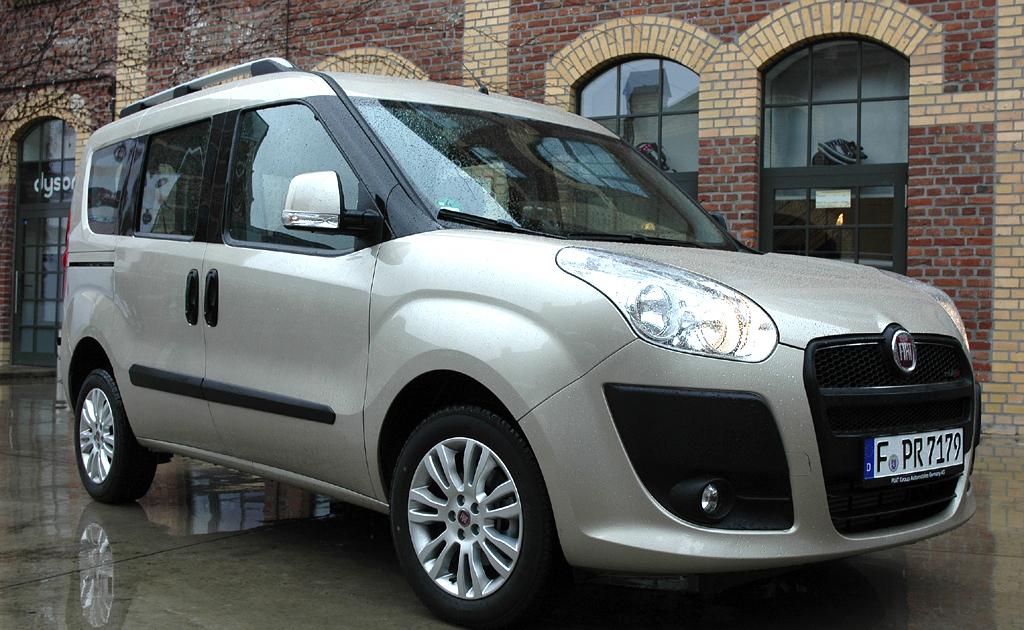 Fiats neue Doblò-Generation, hier als Pkw-Variante.