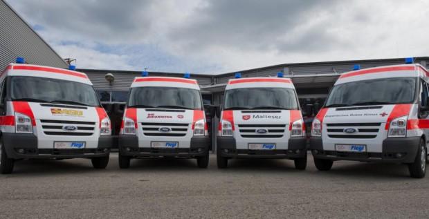 Ford baute Flottengeschäft mit Rettungsdiensten und Wohlfahrtsverbänden aus