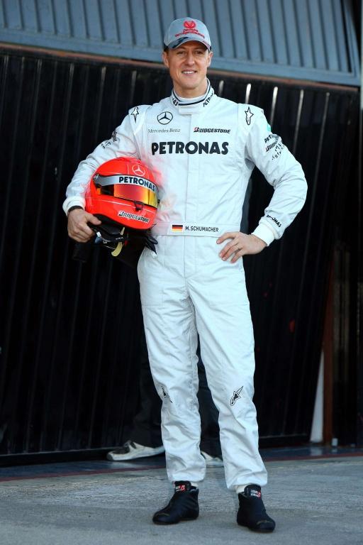 Formel 1: Michael Schumacher erstmals im Silberpfeil unterwegs