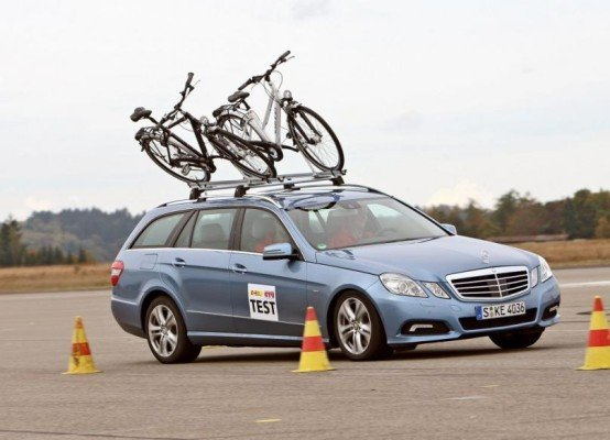 GTÜ testete fünf Fahrradhalter