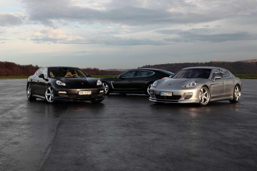 Genf 2010: Techart veredelt Porsche Panamera