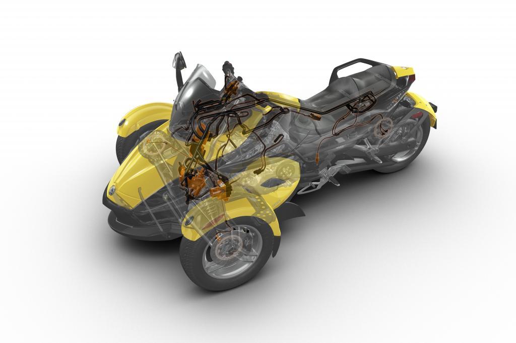 Genfer Salon 2010: Can-Am Spyder – der Motorrad-Roadster - Bild(8) - Bild(8)