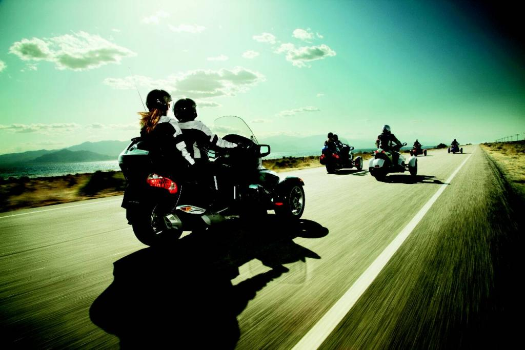 Genfer Salon 2010: Can-Am Spyder – der Motorrad-Roadster - Bild - Bild