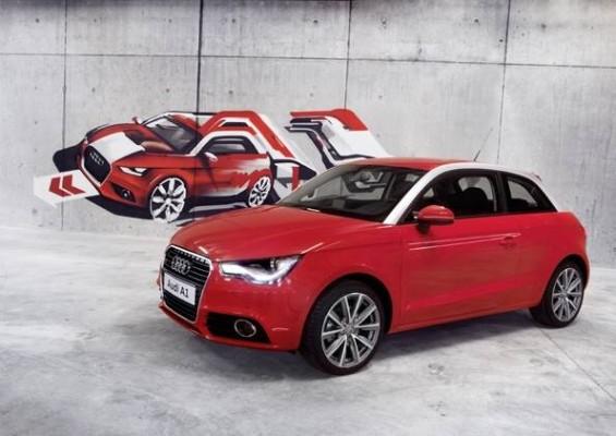 Genfer Salon 2010: Justin Timberlake präsentiert Audi A1