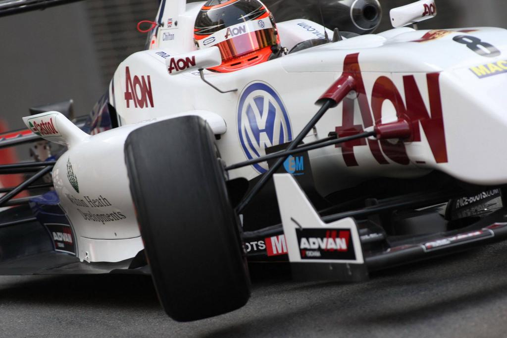 Hochkarätige Formel-3-Piloten ''powered by Volkswagen''