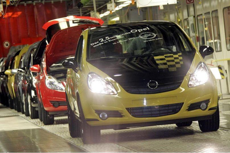 In Eisenach lief der 2,5-millionste Opel vom Band