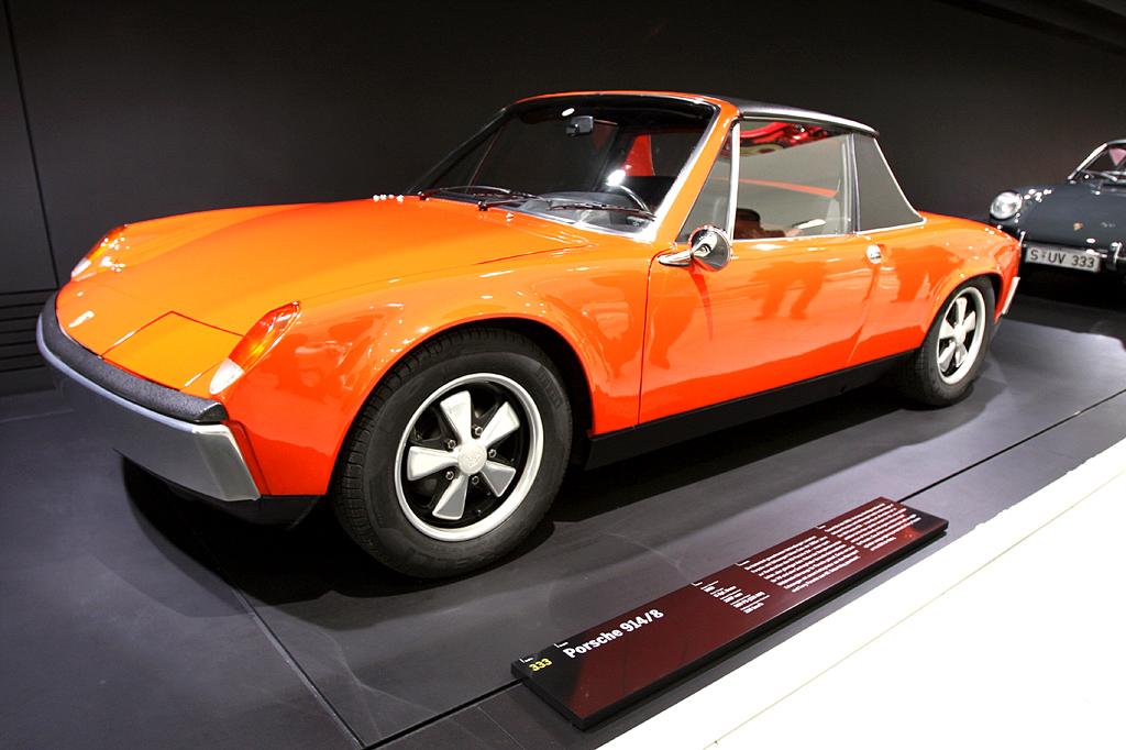 Ist auch schon Vergangenheit: Porsche-Modell 914.