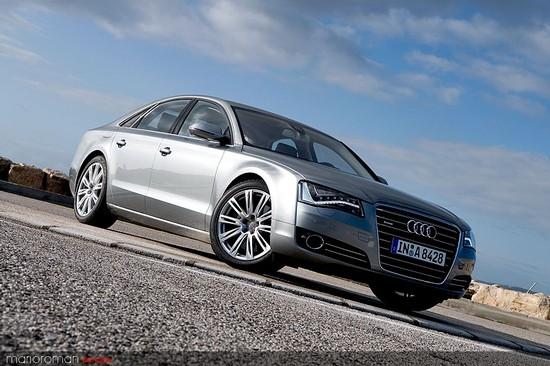 Kurz angefahren: Audi A8 4,2 FSI - Des Transporters neue Kutsche
