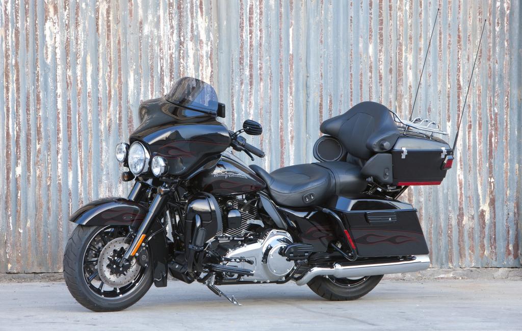 Limitierte Sonderlackierung für die Harley-Davidson CVO Ultra Classic Electra Glide