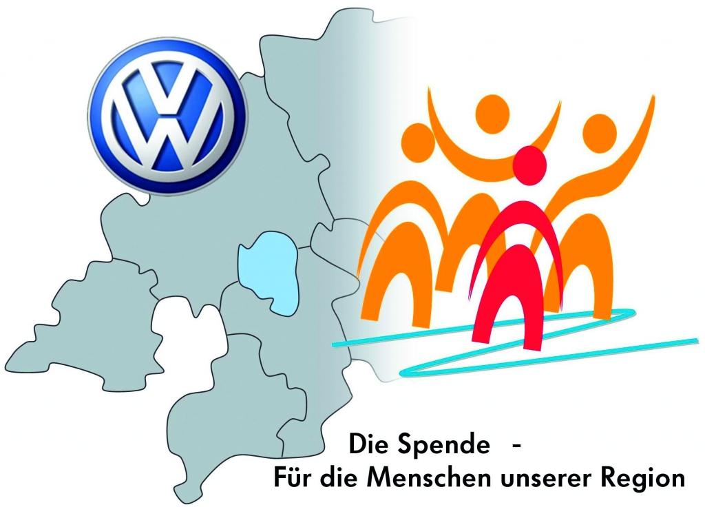 Logo Volkswagen Belegschaftsspende