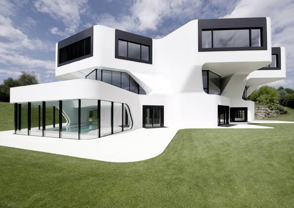 Mayer H. Architects aus Berlin: Casa Villa MRMM nahe Ludwigsburg 2008.