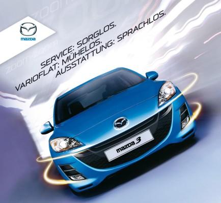 Mazda bietet Varioflat an
